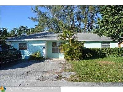 Sunrise Single Family Home For Sale: 6561 NW 20th Ct