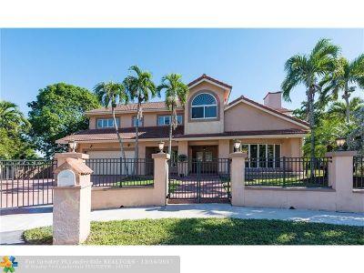 Plantation Single Family Home Backup Contract-Call LA: 10160 SW 1st Ct