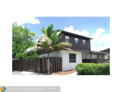 Miramar Condo/Townhouse For Sale: 3616 SW 70th Ave #31X