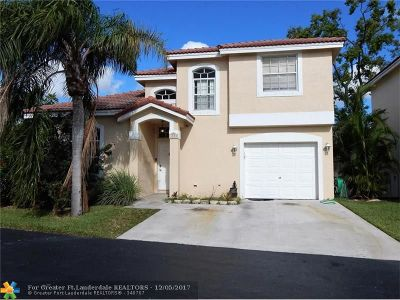 Coconut Creek Single Family Home Backup Contract-Call LA: 4573 NW 60th St