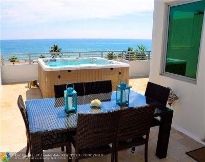 Pompano Beach Condo/Townhouse For Sale: 707 Briny Avenue #707
