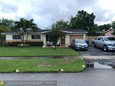 Sunrise Single Family Home Backup Contract-Call LA: 6110 NW 17th St