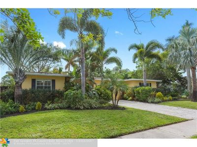 Fort Lauderdale Single Family Home For Sale: 112 NE 16th Ct