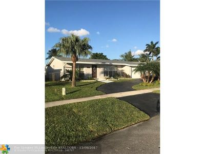 Sunrise Single Family Home For Sale: 11411 NW 35th Pl
