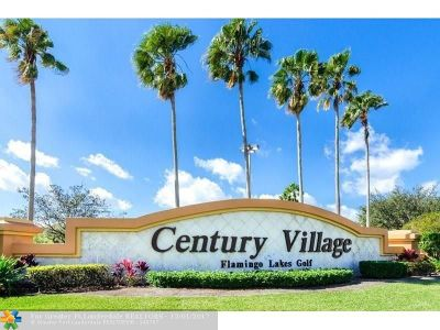 Pembroke Pines Condo/Townhouse For Sale: 13250 SW 4th Ct #407G