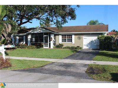 Davie Single Family Home For Sale: 12521 SW 10th Ct