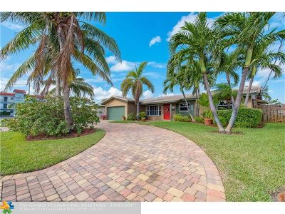 Fort Lauderdale Single Family Home For Sale: 1419 NE 53rd Ct