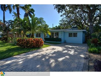 Wilton Manors Single Family Home For Sale: 1528 NE 28th Dr
