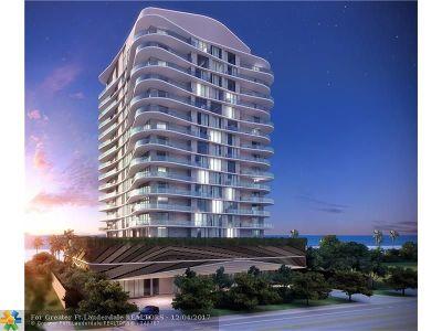 Pompano Beach Condo/Townhouse For Sale: 730 N Ocean Blvd #804