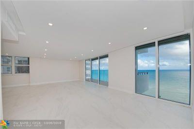 Hallandale Condo/Townhouse For Sale: 2030 S Ocean Dr #1714