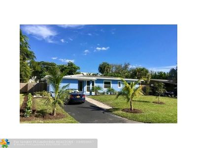 Wilton Manors Rental For Rent: 2724 NW 3rd Ave