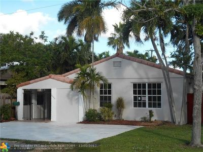Broward County Single Family Home For Sale: 1100 NE 17th Ter