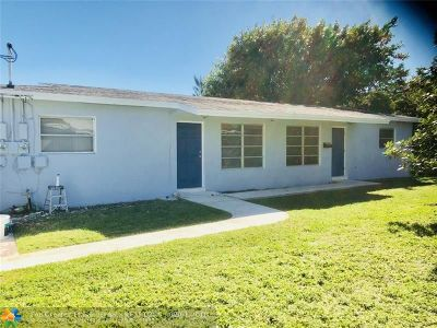 Wilton Manors Multi Family Home For Sale: 2441 NW 9th Ter