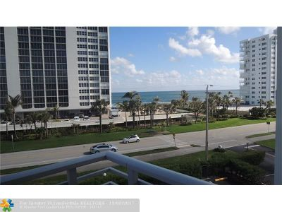 Boca Raton Condo/Townhouse For Sale: 2851 S Ocean Blvd #4V