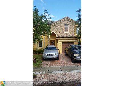 Miami Condo/Townhouse For Sale: 15245 SW 8th Way #.