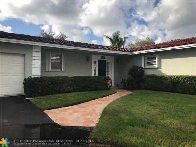 Plantation Single Family Home For Sale: 7112 E Tropical Way