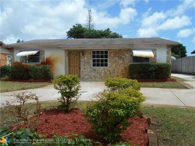 Fort Lauderdale Single Family Home For Sale: 2631 NW 24th St