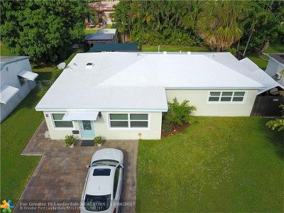 Fort Lauderdale Single Family Home For Sale: 823 SW 26th Ct
