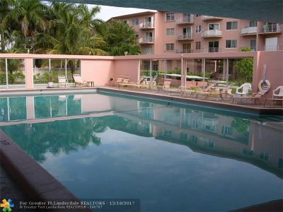 Lauderdale By The Sea Condo/Townhouse For Sale: 1967 S Ocean Blvd #111-C