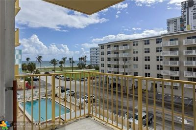 Hollywood Condo/Townhouse Backup Contract-Call LA: 1801 S Ocean Dr #405