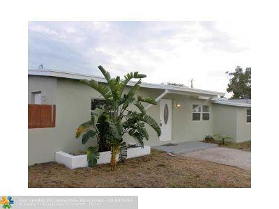 Pompano Beach Single Family Home For Sale: 1546 NE 53rd Ct