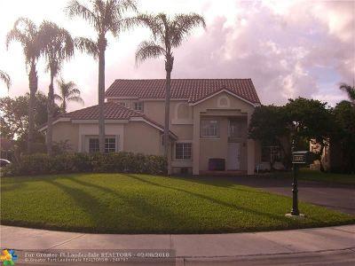 Weston Single Family Home Backup Contract-Call LA: 1147 Laguna Springs Dr