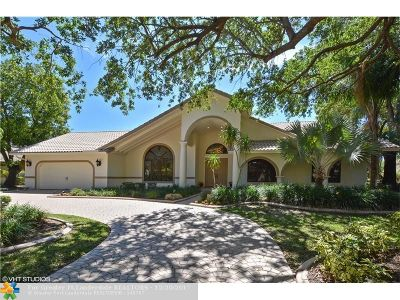 Coral Springs Single Family Home For Sale: 1724 Vestal Dr