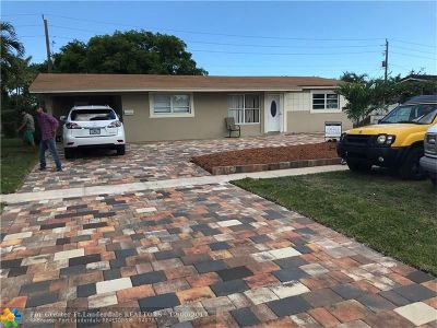 Deerfield Beach Single Family Home Backup Contract-Call LA: 1312 SE 2nd Ave