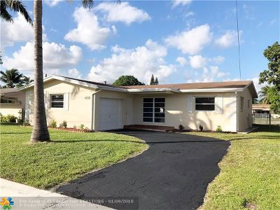 Sunrise Single Family Home For Sale: 6701 NW 25th Ct