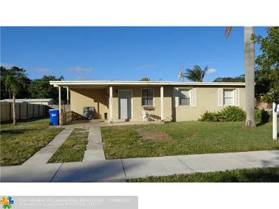 Pompano Beach Single Family Home For Sale: 1571 NE 47th St