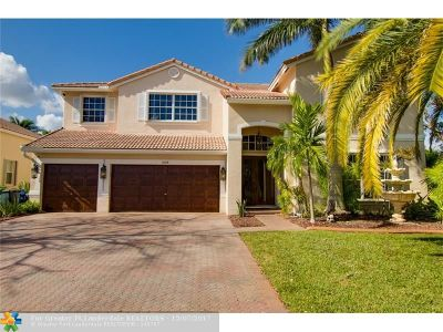 Coral Springs Single Family Home For Sale: 5664 NW 106th Way