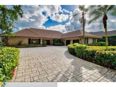 West Palm Beach Single Family Home For Sale: 1672 Breakers West Blvd