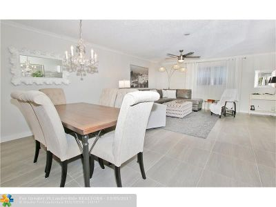Lauderhill Condo/Townhouse For Sale: 4841 NW 22nd Ct #100
