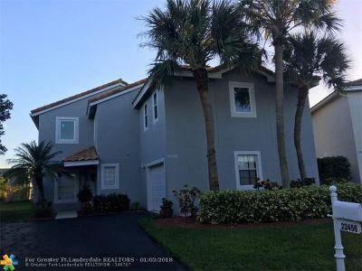 Boca Raton Single Family Home For Sale: 22456 Overture Cir