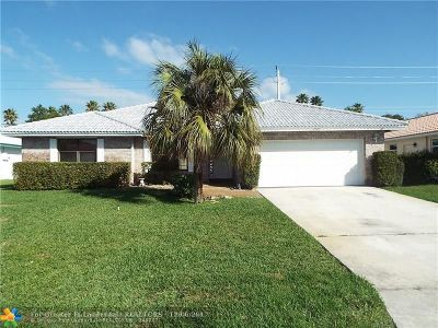 Coral Springs Single Family Home For Sale: 7207 NW 45th St
