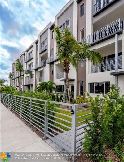 Fort Lauderdale Condo/Townhouse For Sale: 1045 NE 18th Ave #102