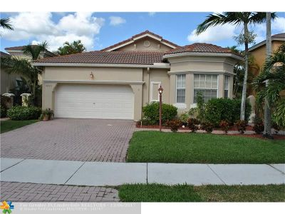 Coral Springs Single Family Home For Sale: 5850 NW 119th Dr