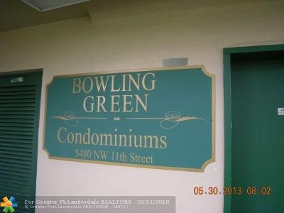 Lauderhill Condo/Townhouse For Sale: 5480 NW 11th St #207