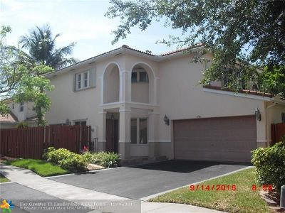 Coconut Creek Single Family Home For Sale: 4770 NW 6th Pl
