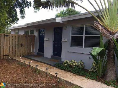 Fort Lauderdale Multi Family Home For Sale: 1000 NE 14th Pl