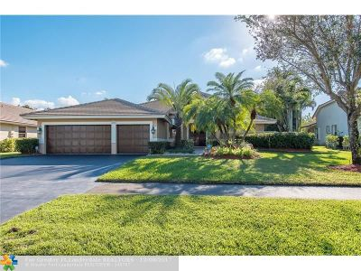 Coral Springs Single Family Home For Sale: 4875 Kensington Cir
