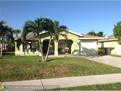 Pompano Beach Single Family Home For Sale: 337 NW 16th Place
