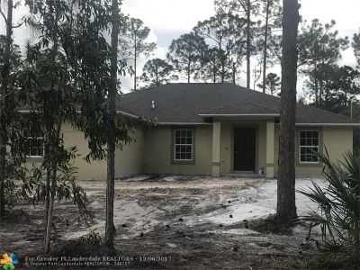 Loxahatchee Single Family Home For Sale: 14754 82nd Ln N