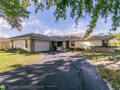 Coral Springs Single Family Home For Sale: 10733 NW 17th Mnr