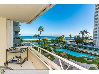 Lauderdale By The Sea Condo/Townhouse For Sale: 1850 S Ocean Blvd #308