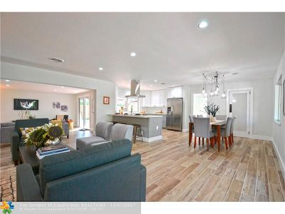 Fort Lauderdale Single Family Home For Sale: 2160 NE 62nd Ct
