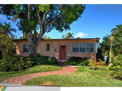 Hollywood Single Family Home For Sale: 915 Buchanan St