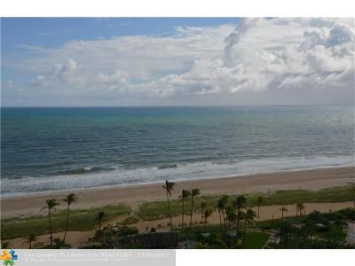 Broward County, Collier County, Lee County, Palm Beach County Rental For Rent: 5100 N Ocean Blvd #1611