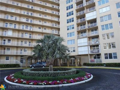 Broward County, Collier County, Lee County, Palm Beach County Rental For Rent: 201 N Ocean Blvd #206
