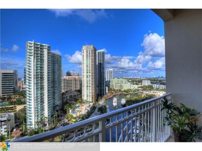Fort Lauderdale Condo/Townhouse For Sale: 511 SE 5th Ave #1922